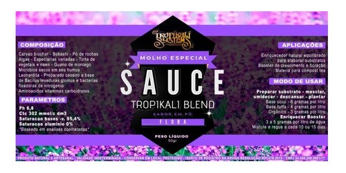 Sauce Flora Tropikali